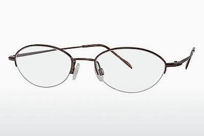 Brille Flexon FLX 883MAG-SET 218 - Braun