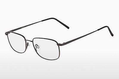 Brille Flexon FOSTER 600 001 - Schwarz, Chrome
