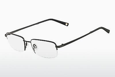 Brille Flexon MOVEMENT 001 - Schwarz, Chrome
