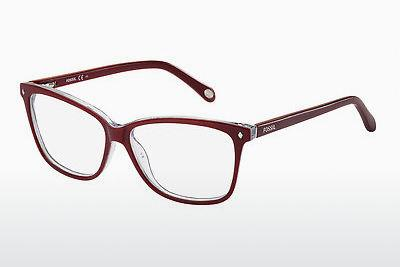 Brille Fossil FOS 6011 GW8 - Rot, Rosa