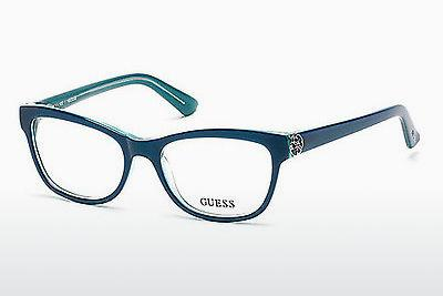 Brille Guess GU2527 087 - Blau, Turquoise, Shiny