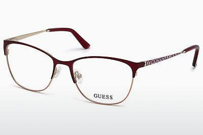 Brille Guess GU2583 070 - Burgund, Bordeaux, Matt
