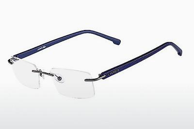 Brille Lacoste L2182 033 - Rotguss, Satin