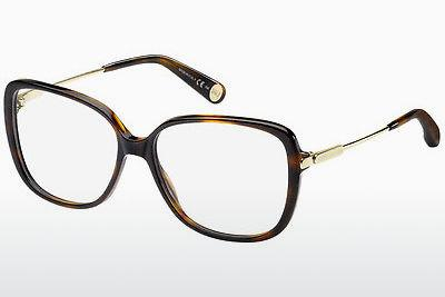 Brille Marc Jacobs MJ 494 8NQ - Gold, Braun, Havanna