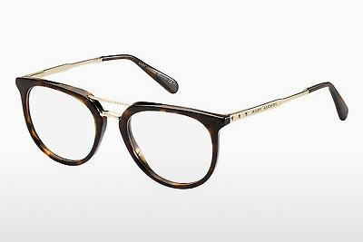 Brille Marc Jacobs MJ 603 AQT - Gold, Braun, Havanna