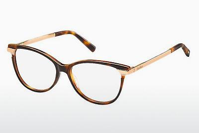 Brille Max Mara MM 1233 CJ7 - Havanna, Weiß, Gold