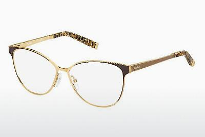 Brille Max Mara MM 1255 MH8 - Gold, Braun
