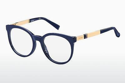 Brille Max Mara MM 1286 YK3 - Blau, Gold