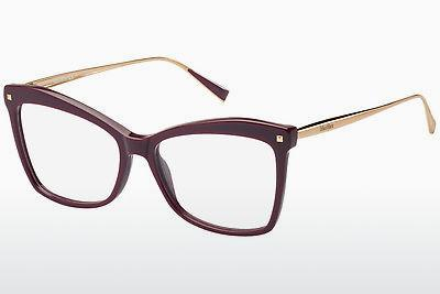 Brille Max Mara MM 1288 YK9 - Rot, Rosa, Gold