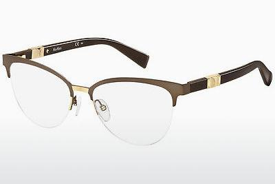 Brille Max Mara MM 1291 H8T - Braun, Gold