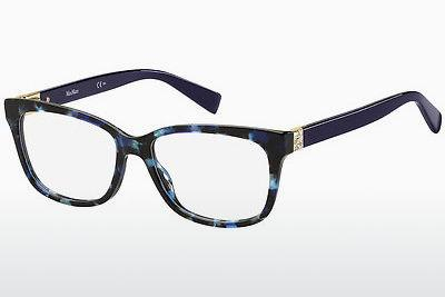 Brille Max Mara MM 1321 XP8 - Blau, Braun, Havanna