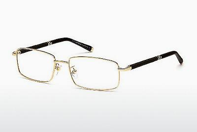 Brille Mont Blanc MB0396 028 - Gold
