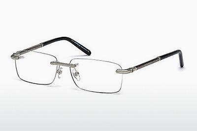 Brille Mont Blanc MB0492 016 - Silber