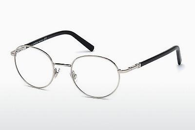 Brille Mont Blanc MB0557 016 - Silber, Shiny, Grey
