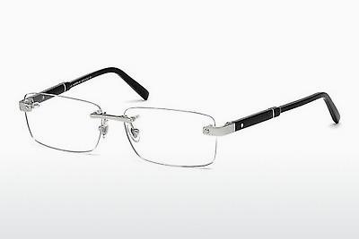 Brille Mont Blanc MB0617 016 - Silber, Shiny, Grey