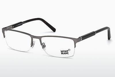 Brille Mont Blanc MB0636 014 - Grau, Shiny, Bright
