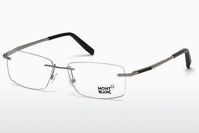 Brille Mont Blanc MB0670 014 - Grau, Shiny, Bright