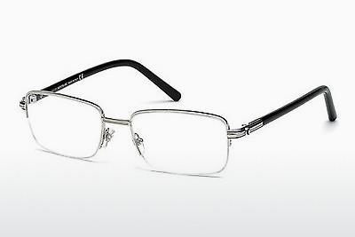Brille Mont Blanc MB478U 016 - Silber, Shiny, Grey