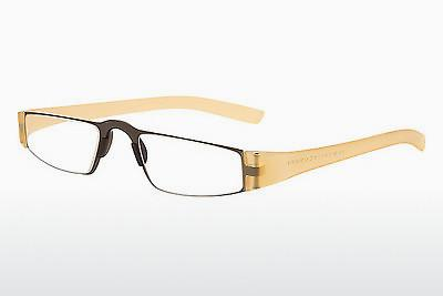 Brille Porsche Design P8801 K D2.00 - Gelb, Transparent
