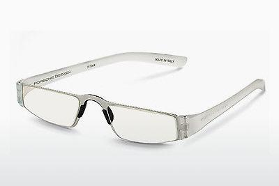 Brille Porsche Design P8801 M D1.00 - Weiß, Transparent