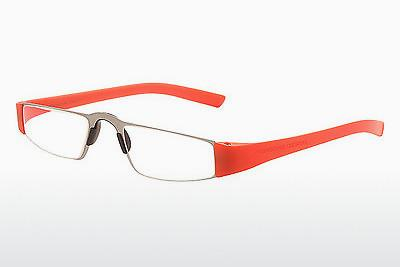 Brille Porsche Design P8801 O D1.00 - Orange, Transparent