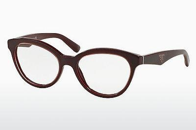 Brille Prada TRIANGLE (PR 11RV UAN1O1) - Bordeaux, Braun