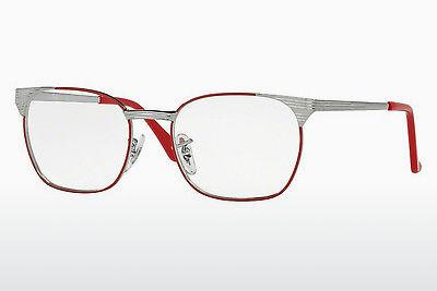 Brille Ray-Ban Junior RY1051 4053 - Grau, Rot