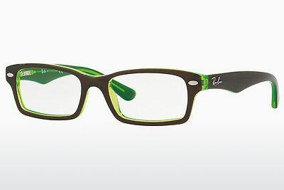 Brille Ray-Ban Junior RY1530 3665 - Braun, Grün
