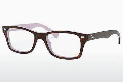 Brille Ray-Ban Junior RY1531 3700 - Purpur, Braun, Havanna