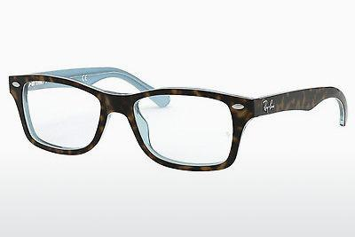Brille Ray-Ban Junior RY1531 3701 - Braun, Havanna, Blau