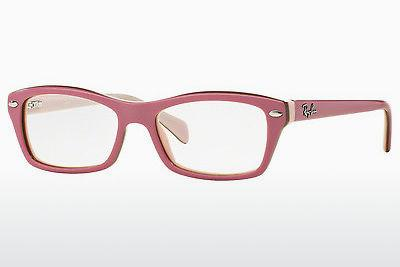 Brille Ray-Ban Junior RY1550 3656 - Rosa, Braun