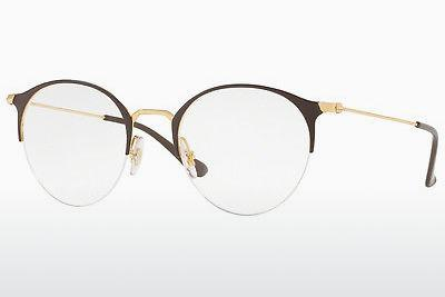 Brille Ray-Ban RX3578V 2905 - Gold, Braun