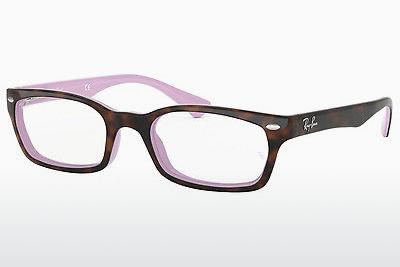 Brille Ray-Ban RX5150 5240 - Purpur, Braun, Havanna