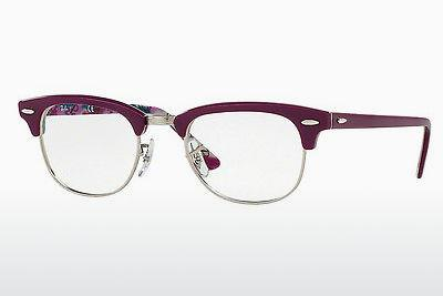 Brille Ray-Ban CLUBMASTER (RX5154 5652) - Purpur, Violet