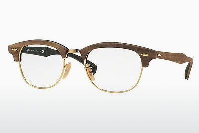 Brille Ray-Ban CLUBMASTER (RX5154M 5561) - Braun