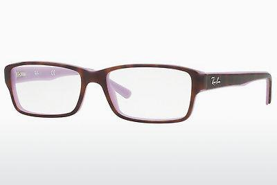 Brille Ray-Ban RX5169 5240 - Purpur, Braun, Havanna
