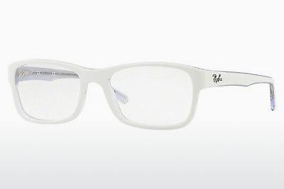 Brille Ray-Ban RX5268 5737 - Weiß, Transparent
