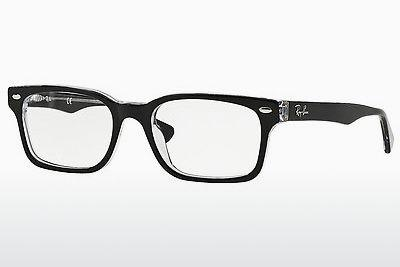 Brille Ray-Ban RX5286 2034 - Schwarz, Transparent
