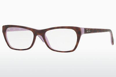 Brille Ray-Ban RX5298 5240 - Purpur, Braun, Havanna