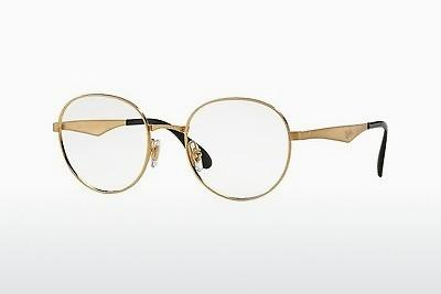 Brille Ray-Ban RX6343 2860 - Gold