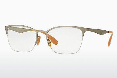 Brille Ray-Ban RX6345 2595 - Silber