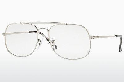 Brille Ray-Ban RX6389 2501 - Silber