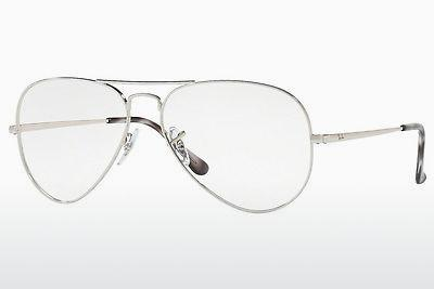 Brille Ray-Ban RX6489 2501 - Silber