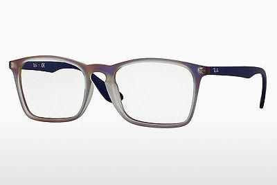 Brille Ray-Ban RX7045 5486 - Purpur, Violet