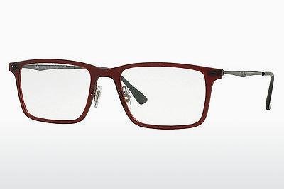 Brille Ray-Ban RX7050 5456 - Rot