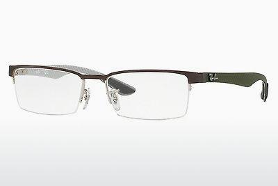 Brille Ray-Ban RX8412 2892 - Silber
