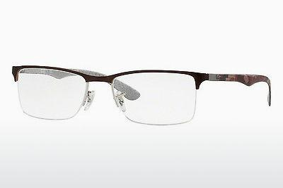 Brille Ray-Ban RX8413 2892 - Silber