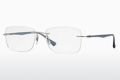 Brille Ray-Ban RX8725 1002 - Silber