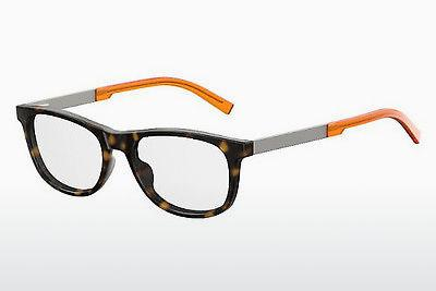 Brille Seventh Street S 266 0O9 - Orange, Braun, Havanna