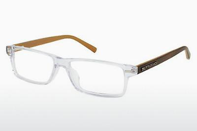 Brille TRUSSARDI TR12717 CR - Weiß, Transparent